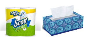 Scott and Kleenex Deal at Stop and Shop